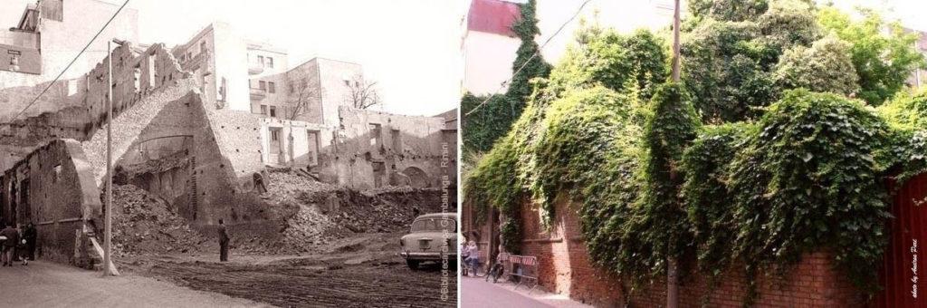 Demolizione di palazzo Lettimi, 27 marzo 1968.