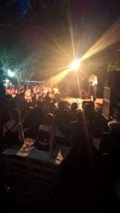 Tamara Balducci e Linda Gennari inaugurano il festival Città Visibili nel giardino Segreto
