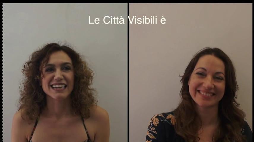 Le città visibili, l'intervista doppia alle direttrici artistiche (VIDEO)