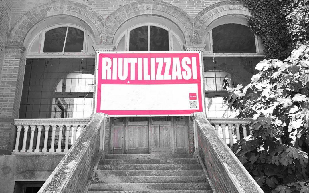 Le Città Visibili e Il Palloncino Rosso, associazioni unite per rigenerare spazi abbandonati