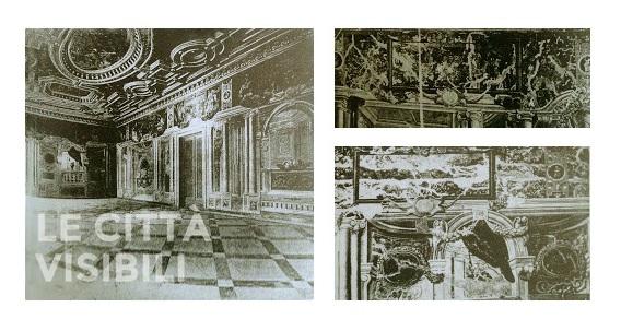 Cinque Camere, ingresso e sala